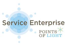 Points of Light Service Enterprise logo