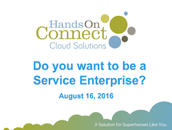 Do you want to be a Service Enterprise?