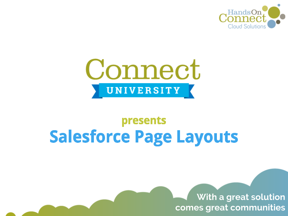 Salesforce Page Layouts
