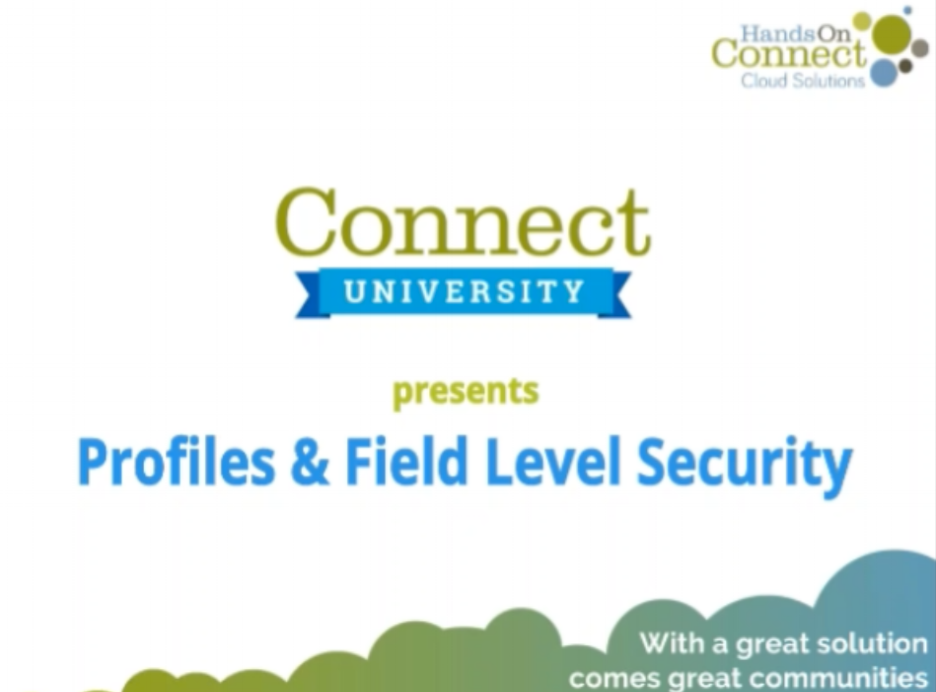 Profiles & Field Level Security