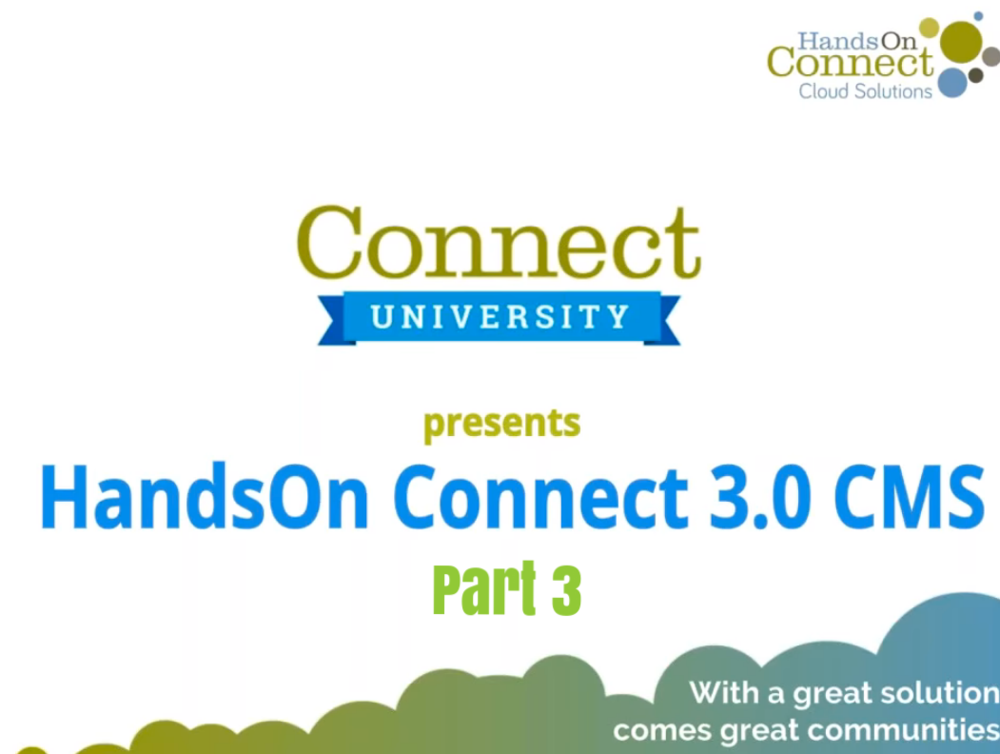 HandsOn Connect 3.0 (part 3)