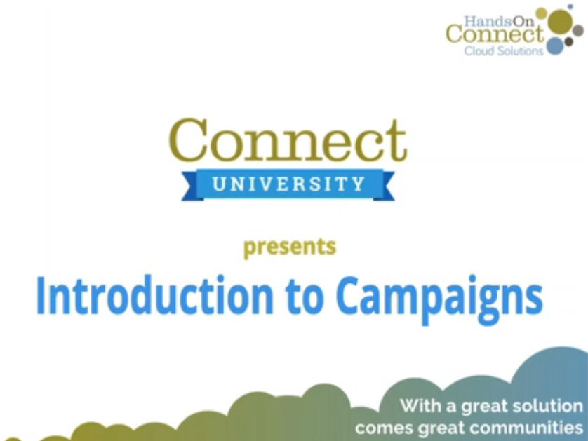 Introduction to Campaigns