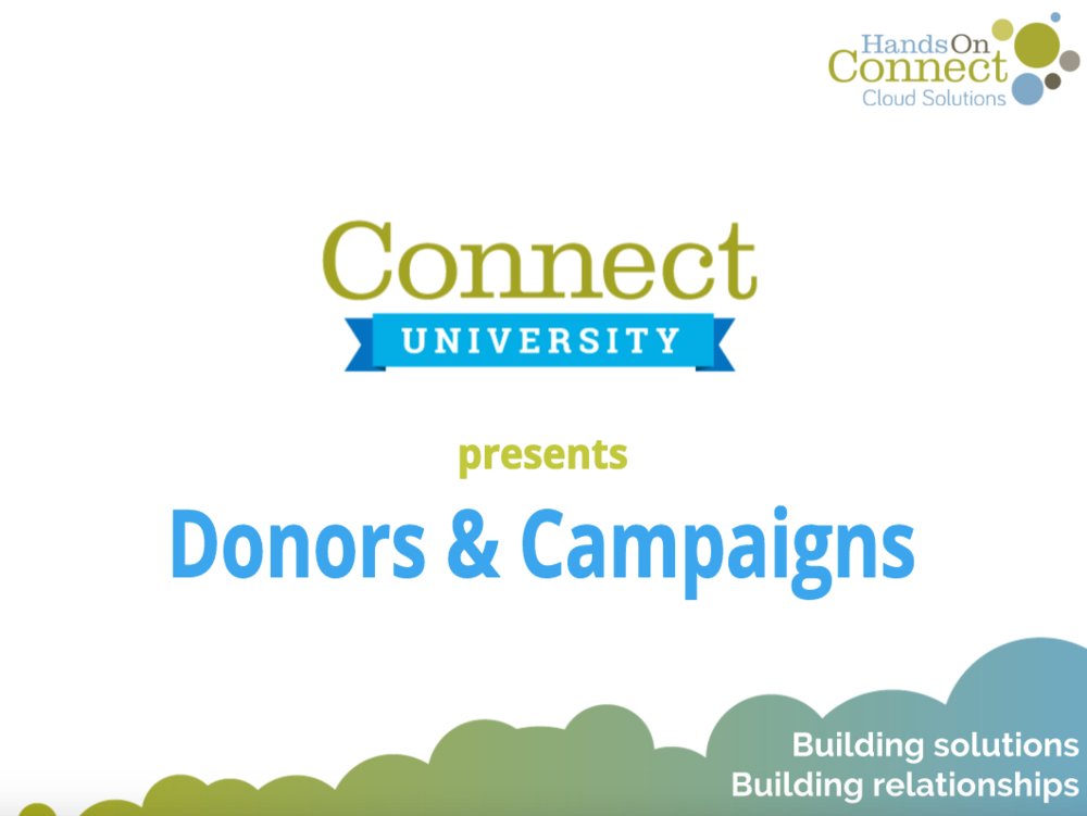 Donors & Campaigns