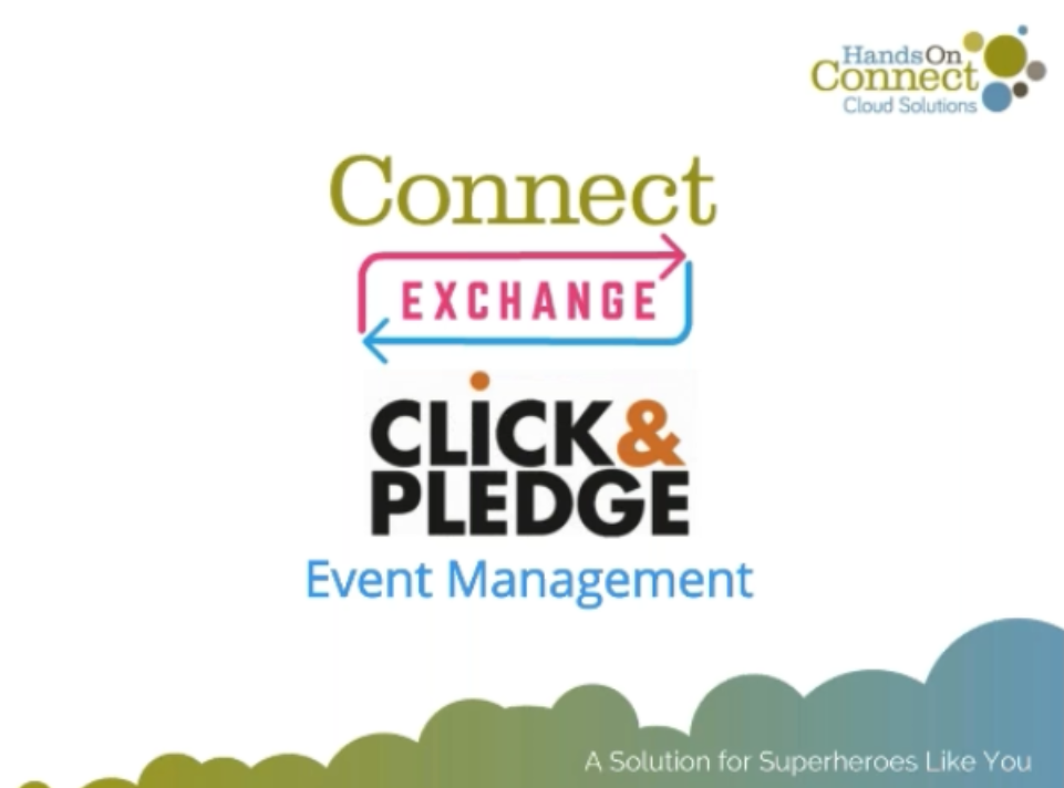 Connect Exchange: Click & Pledge