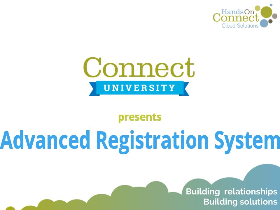 Advanced Registration System