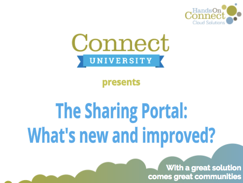 The Sharing Portal: What's new and improved?