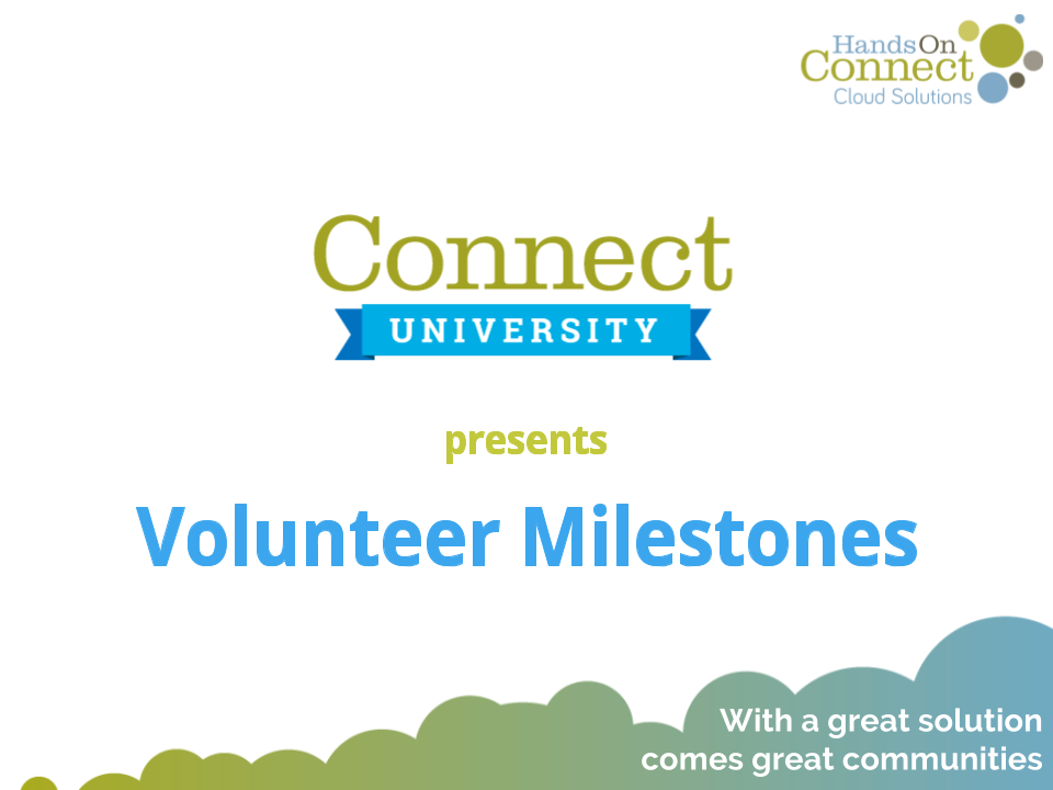 Volunteer Milestones