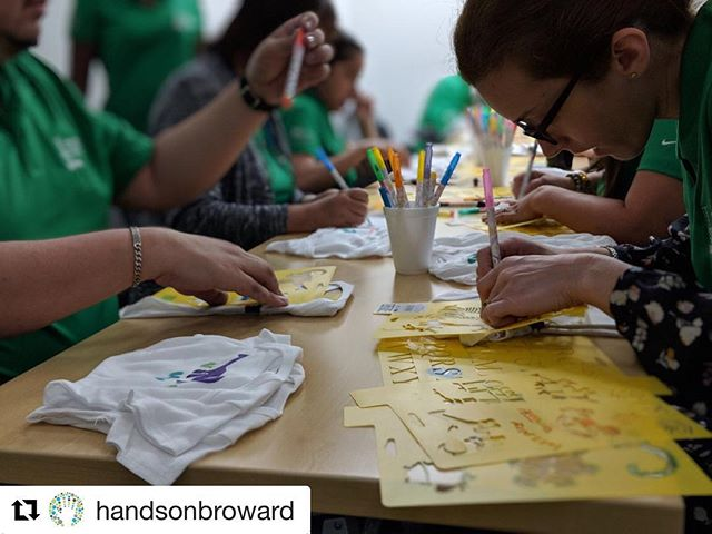 🙌🏼Proud of our customers @handsonbroward good job thanks for being messengers of goodness & agents of change!  #Repost @handsonbroward with @get_repost ・・・ #TeamHOB is #HandsOnAtWork as 50 Lupin Inhalation Research Center employee volunteers design #DIY baby onesies and build fun birthday boxes that will be donated to local nonprofits. A big thank you to this rockstar team! #BeTheChange