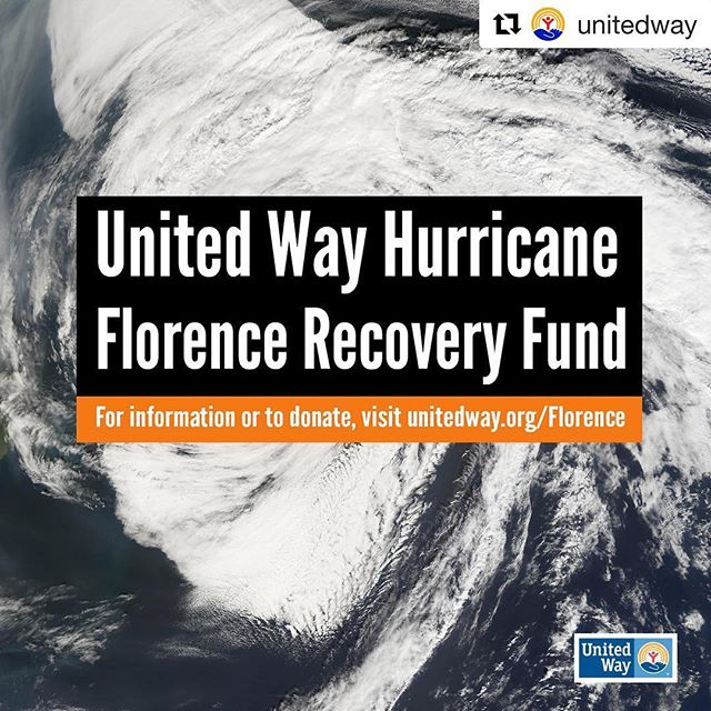 #Repost @unitedway with @get_repost ・・・ United Way stands ready to fight for everyone in the path of #HurricaneFlorence. . As a critical part of a community's recovery efforts, United Ways are ready to help as many people as possible in the affected areas. . ➡️ Here's how you can help: http://unitedway.org/Florence