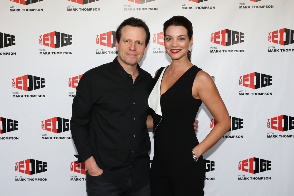 Mark and Heather at The Edge guest appreciation party in 2015.