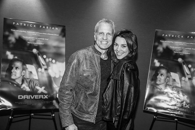 Last night's #driverxmovie premiere with @mrpatrickfabian 🚘💙 Please support #indiefilm! Now showing @laemmletheatres in LA & NY and everywhere on demand. @ifcfilms 🍿