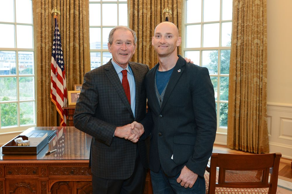President George W. Bush, Veteran's Day 2015
