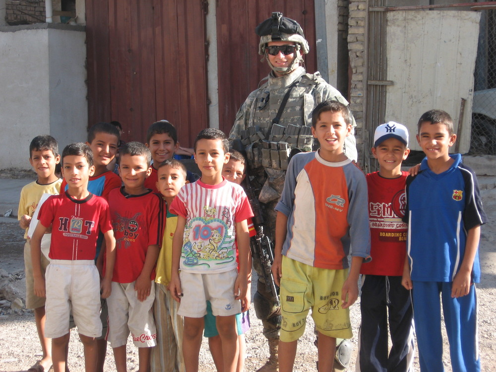 Iraqi children we protected for 15 months