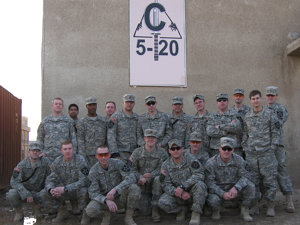 FOB Falcon, Iraq: HQ Platoon, C Co. 5-20 IN, 3rd Battalion, 2nd Division