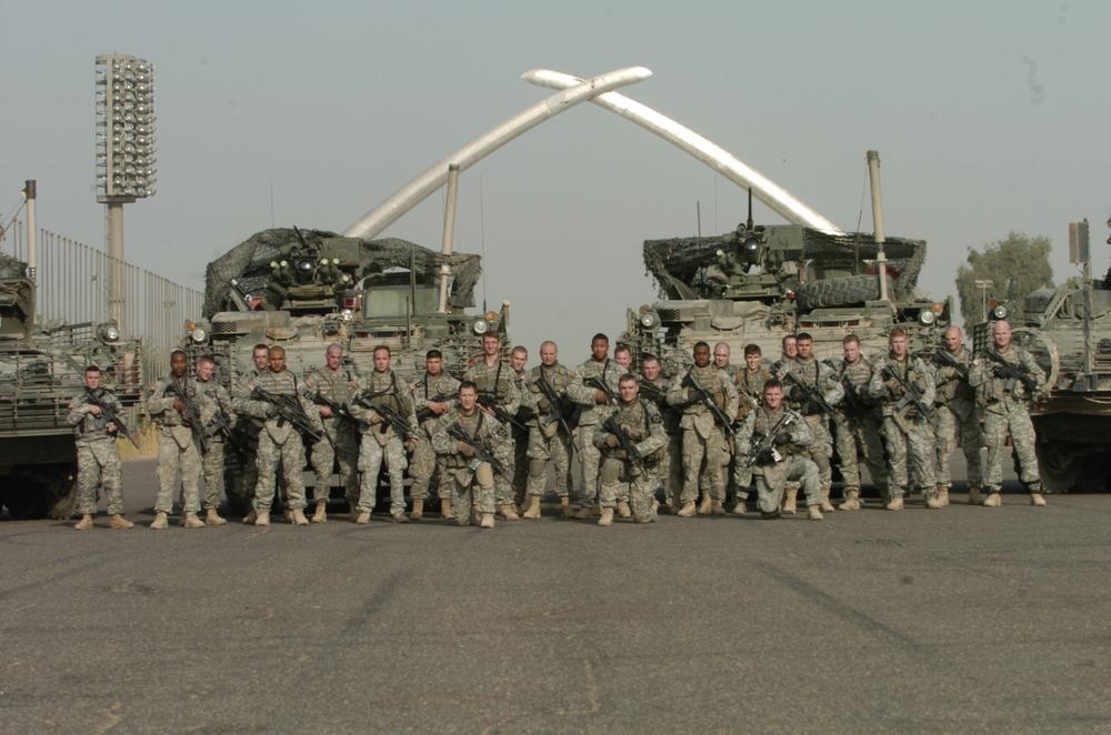 Baghdad, Iraq (Cross Sabers): HQ Platoon, 5-20 IN, 3/2 Brigade