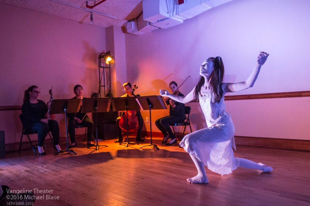 White Fox Butoh at Butoh Strings- Vangeline Theater and New York Butoh Institute - Howl Arts