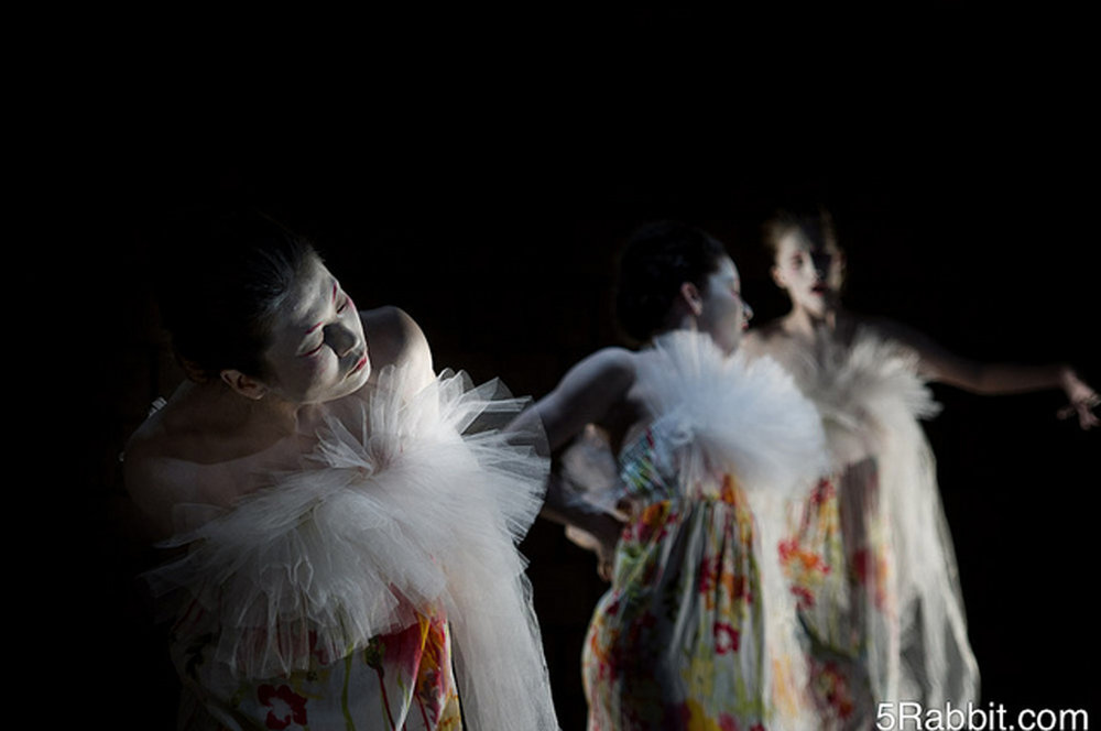 Vangeline Theater - Butoh Blossoms- Photo by Joshua Weiner