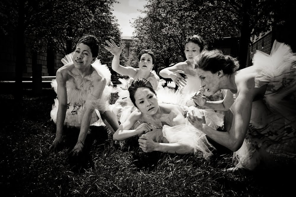 Butoh company Vangeline Theater in Washington DC. Photo by Yassine