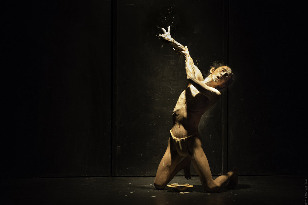 Atsushi Takenouchi in Skin in New York. Photo by Michael Blase.