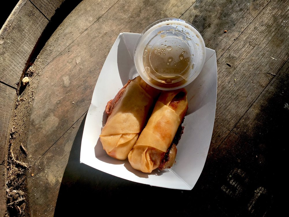 Fried Cuban Roll
