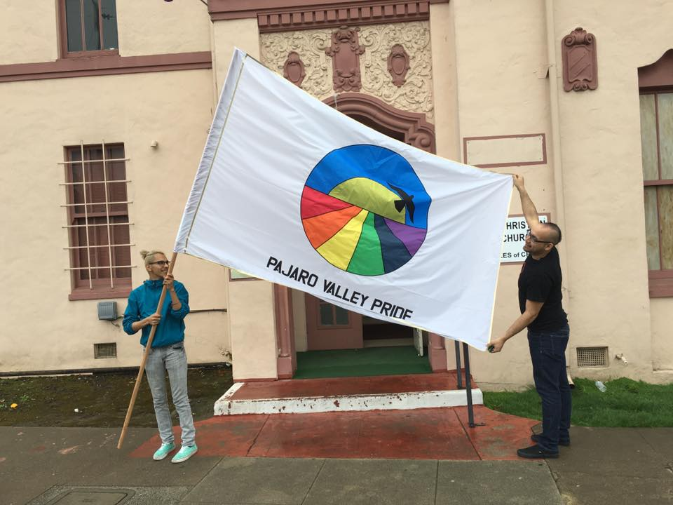 The Pajaro Valley Pride Flag