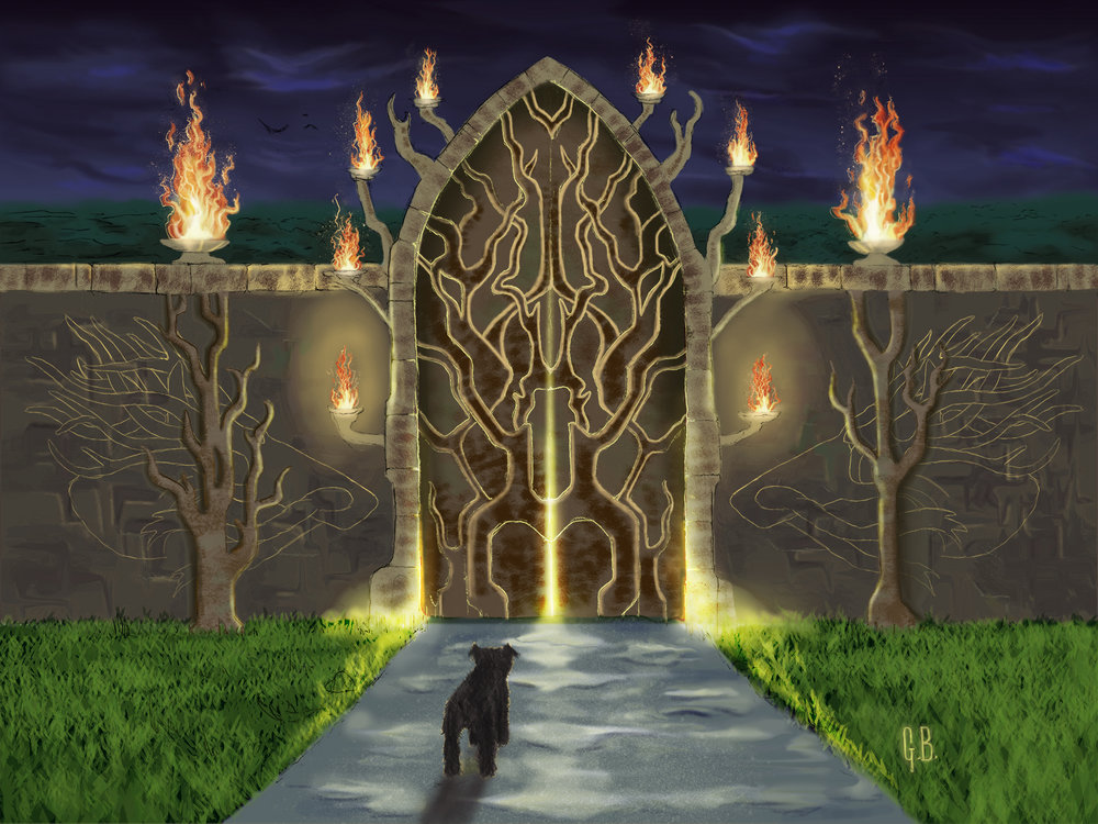 Gate to the Fire Garden