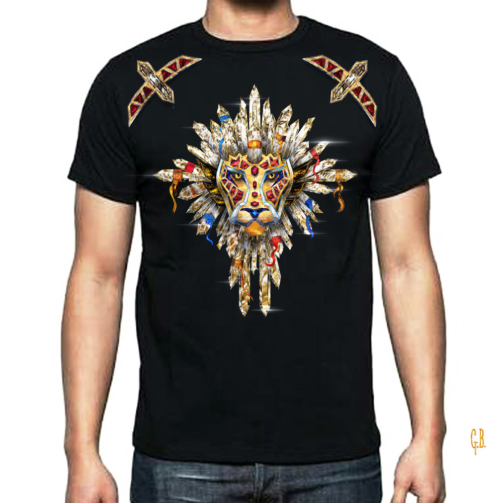 Jeweled Lion Sigil Tshirt.jpg