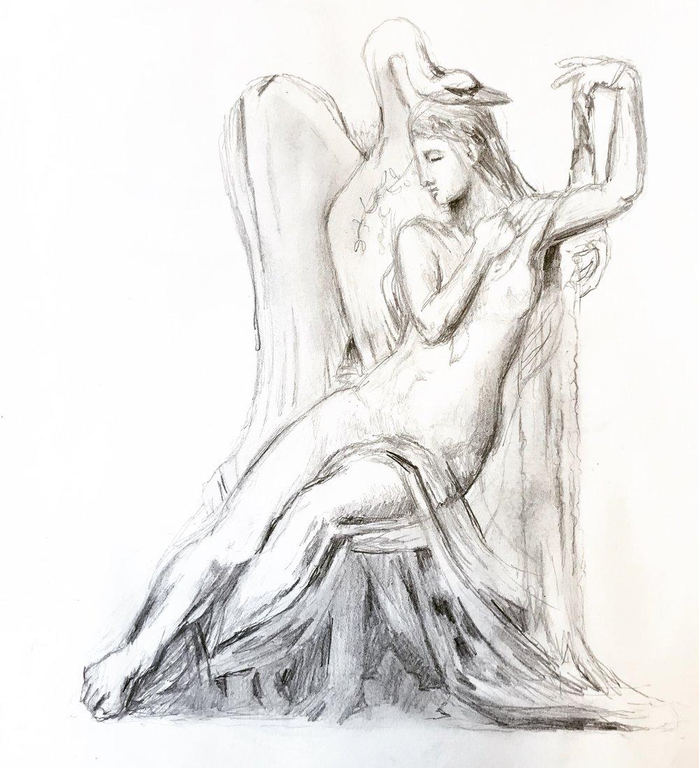 Moreau's Leda and the Swan