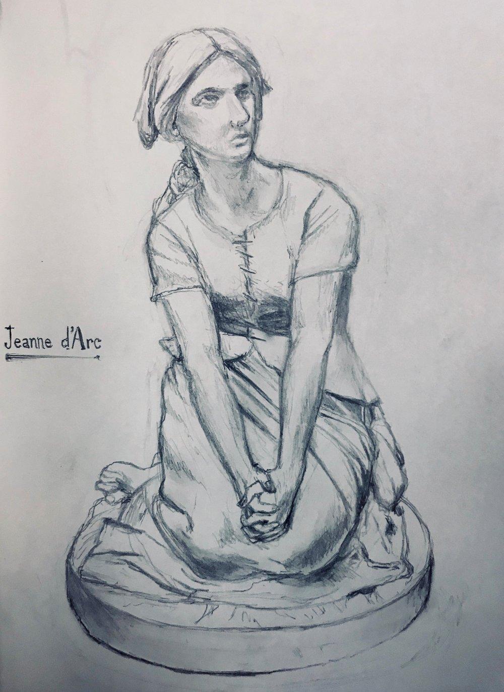 Study of Joan of Arc