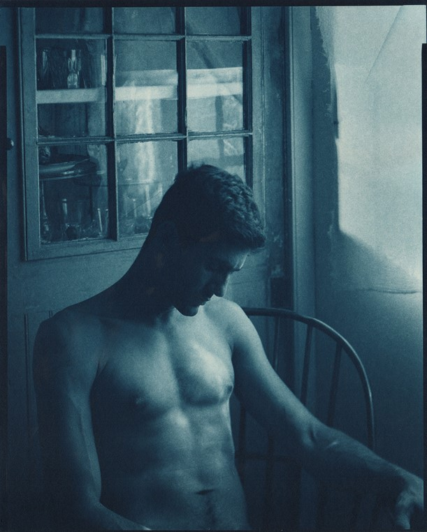 Image 4: John   Patrick Dugdale –  Nameless Lissisitude , 1999. Cyanotype Photograph. Private Collection.