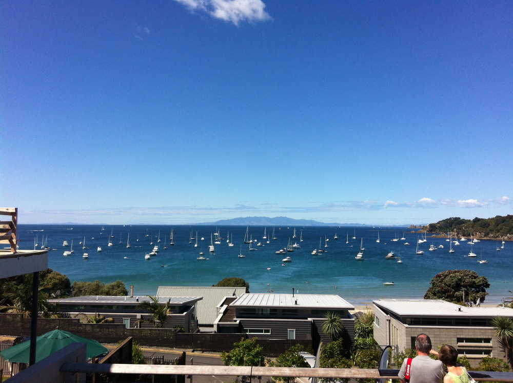 One of my favourite places in New Zealand, Oneroa Bay, Waiheke Island