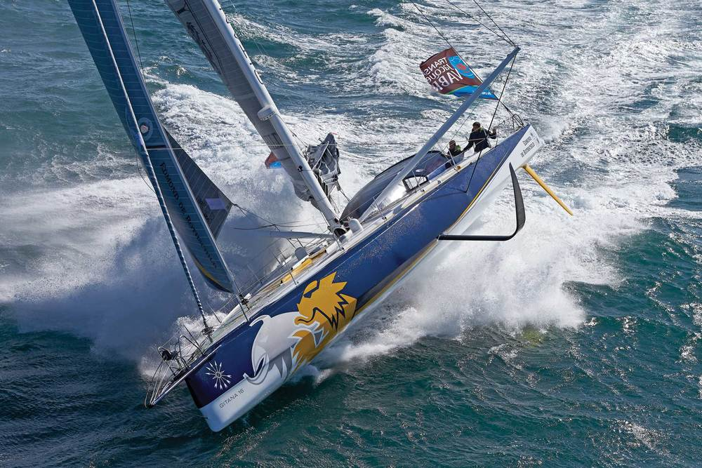 Will we see a 100 foot version of this foiling monohull in the Americas Cup one day?