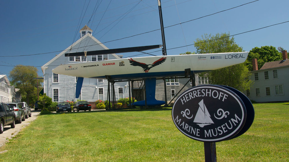 Herreshoff Marine Museum, home of the Americas Cup Hall of Fame