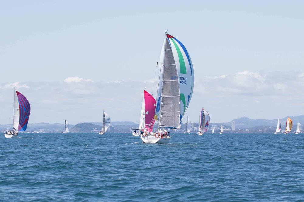 Sail Paradise the premier regatta that the Southport Yacht hosts every January