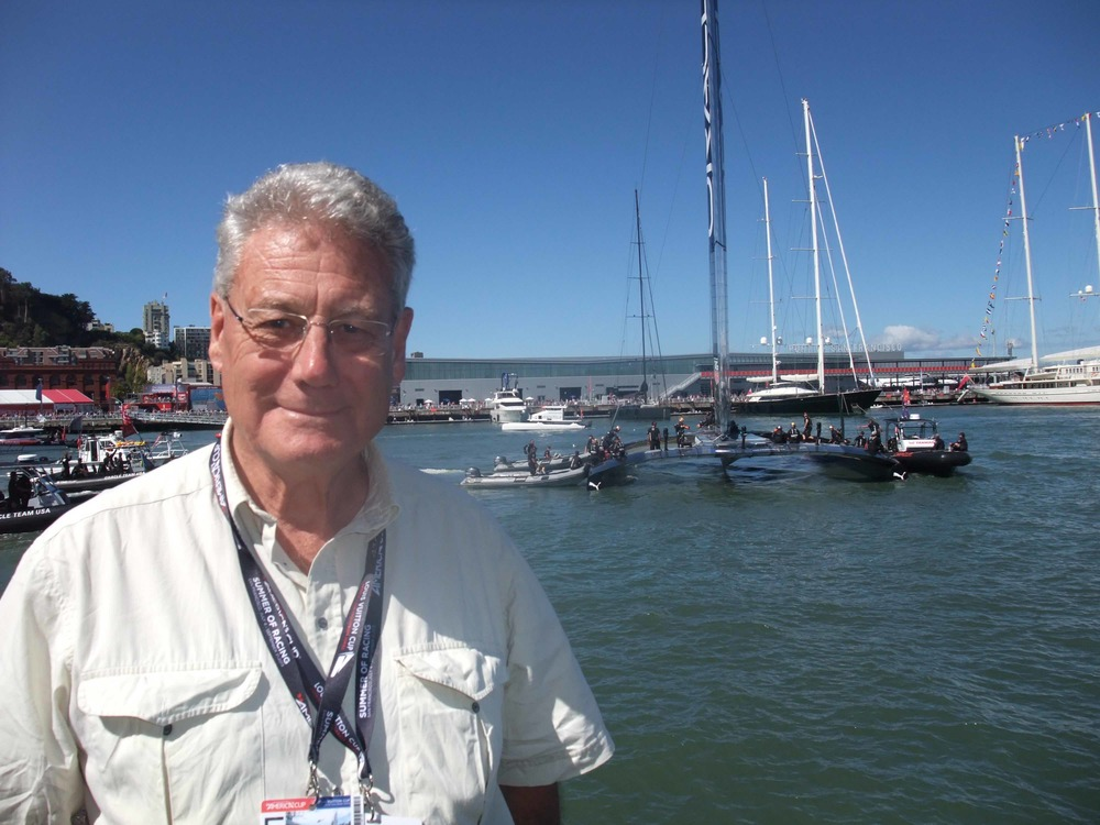 Peter Montgomery in San Francisco the Americas Cup in 2013 where Oracles comeback shocked everyone
