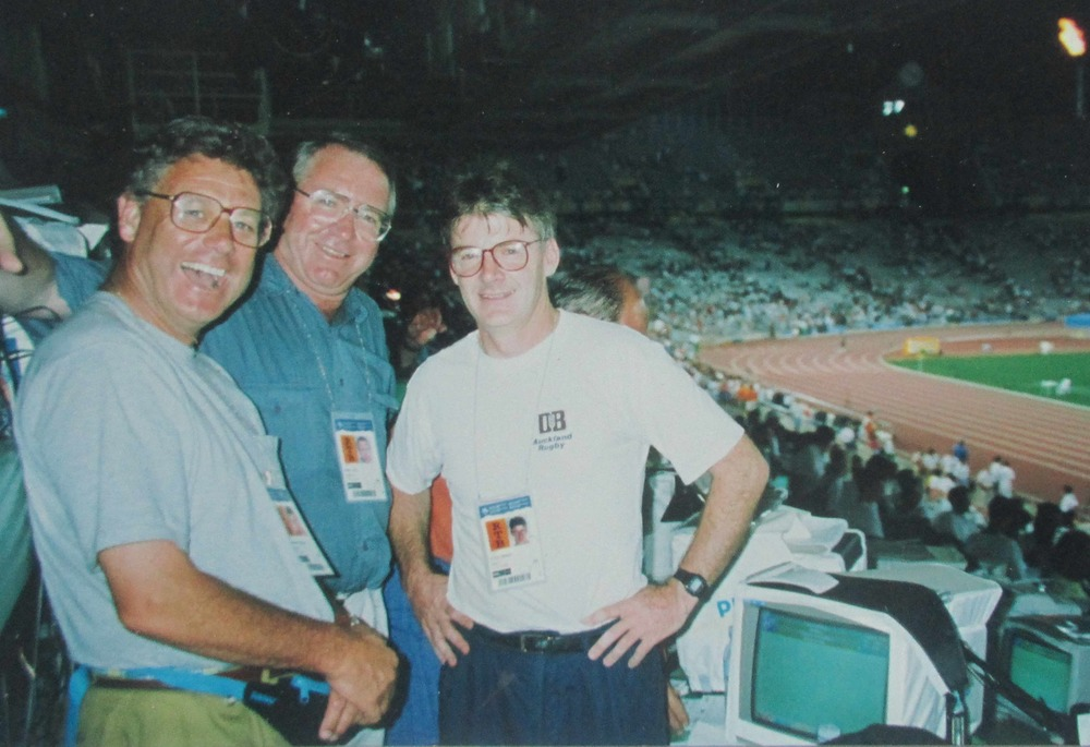 At the completion of London 2012, Peter Montgomery, Brendan Telfer and Keith Quinn had covered nine Olympics Games