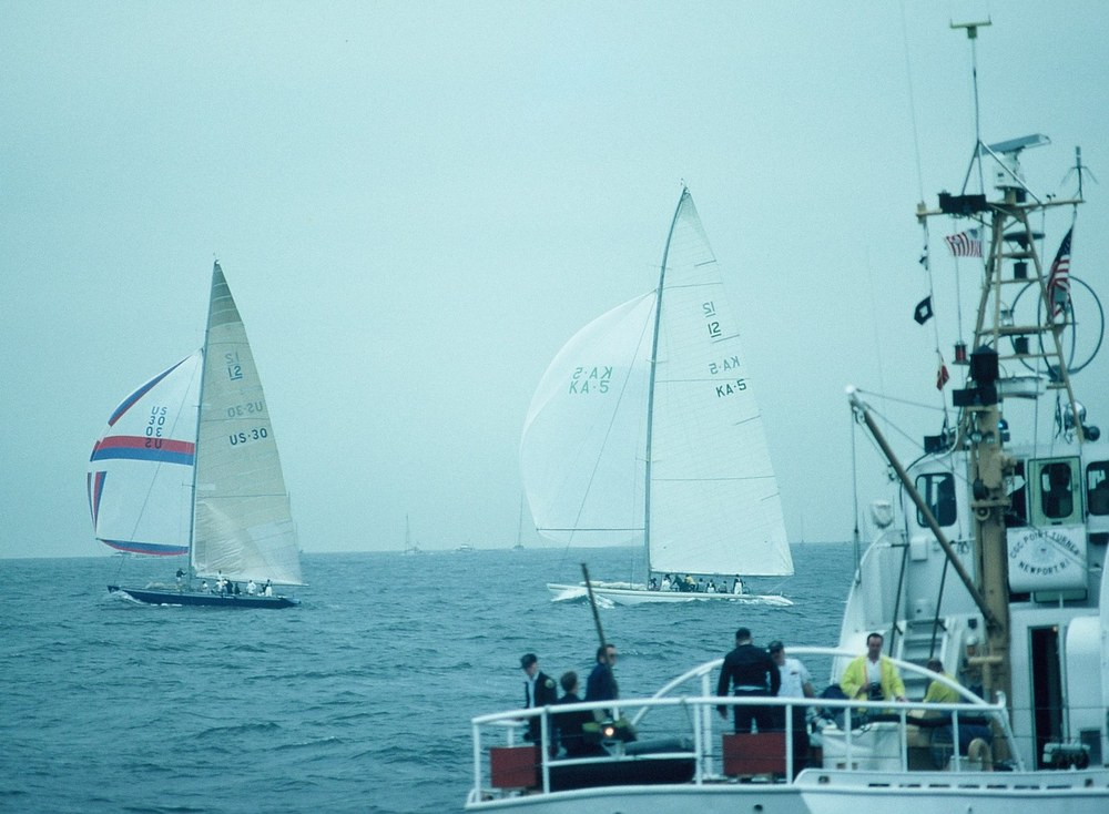 Peters first Americas Cup: Australia vs Freedom in New York 1980