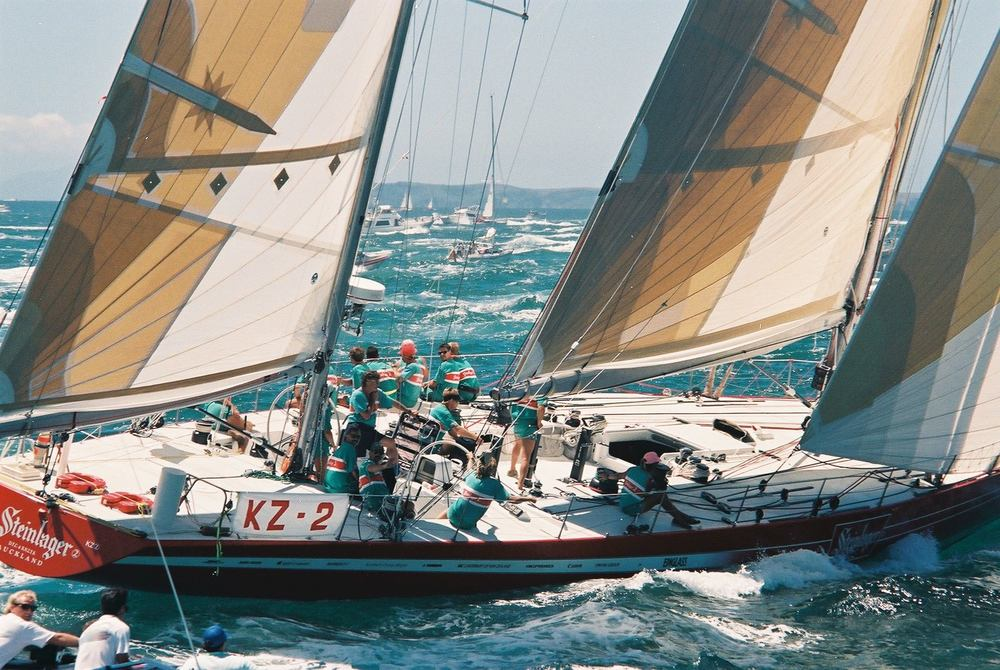Steinlager 2 the only yacht to ever win every leg of the Whitbread or Volvo round the world race
