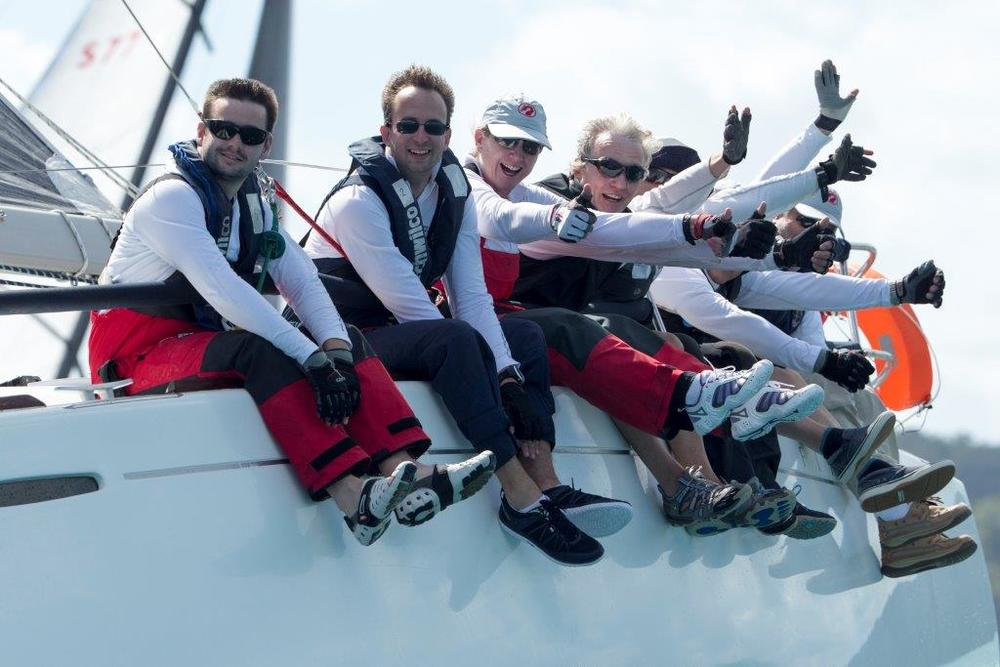 On the rail in splendid conditions at Audi Hamilton Island Race Week. Image: Rob Mundle