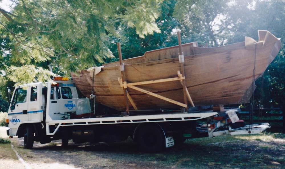Yamba Marina NSW Wooden Boat