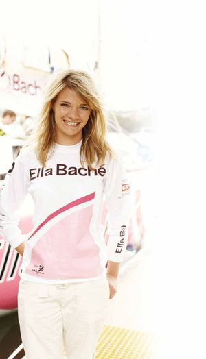 Elle Bache; major sponsor for Jessica Watson