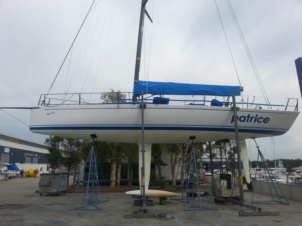 Sailing yacht Patrice