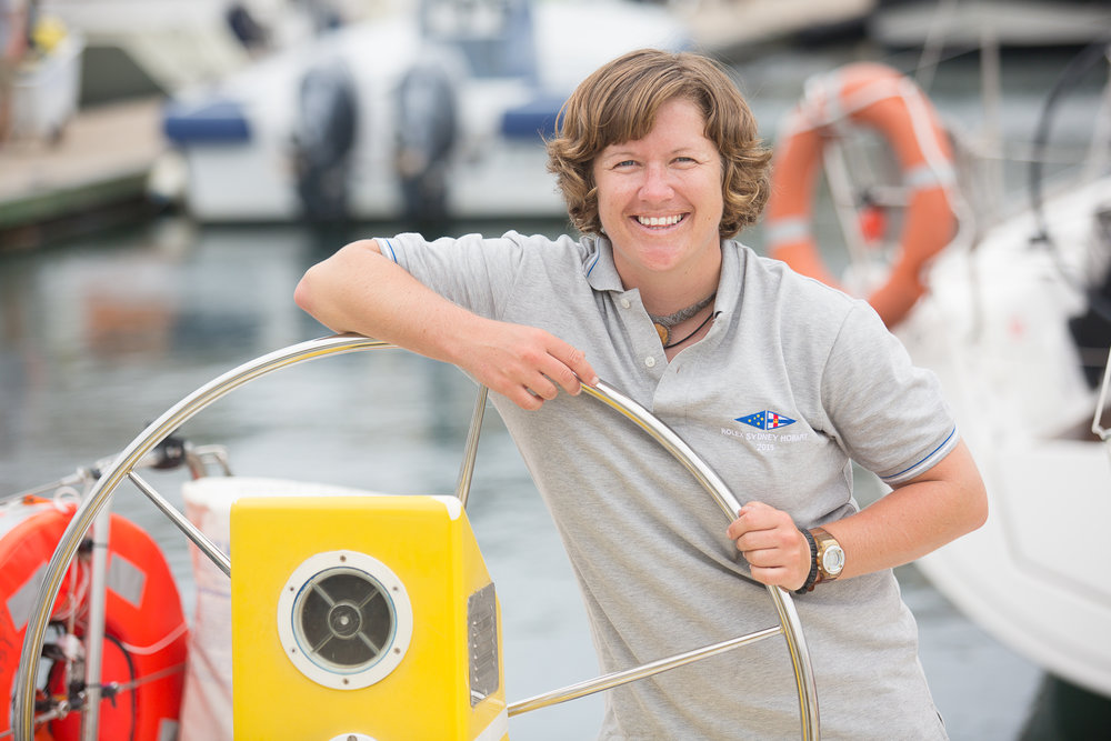 Lisa Blair round the word sailor