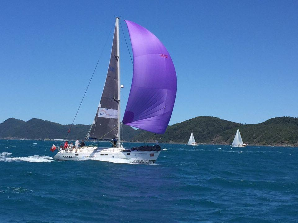 Ocean Gem at Hamilton Island Race Week under Spinnaker