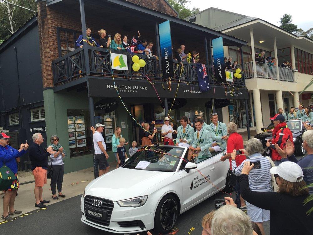 Australian Rio Olympics Sailing Team 2016