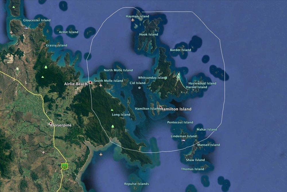 Hamilton Island Race Week set amongst the spectacular Whitsunday Islands