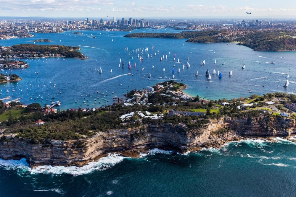 Sydney to Gold Coast Race start 2016