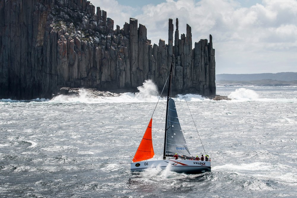 The Organ Pipes Tasmania Sydney Hobart Race