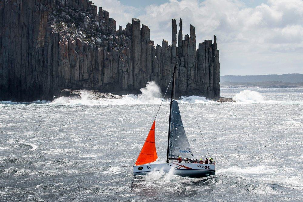 The Organ Pipes Tasmania Sydney Hobart Race