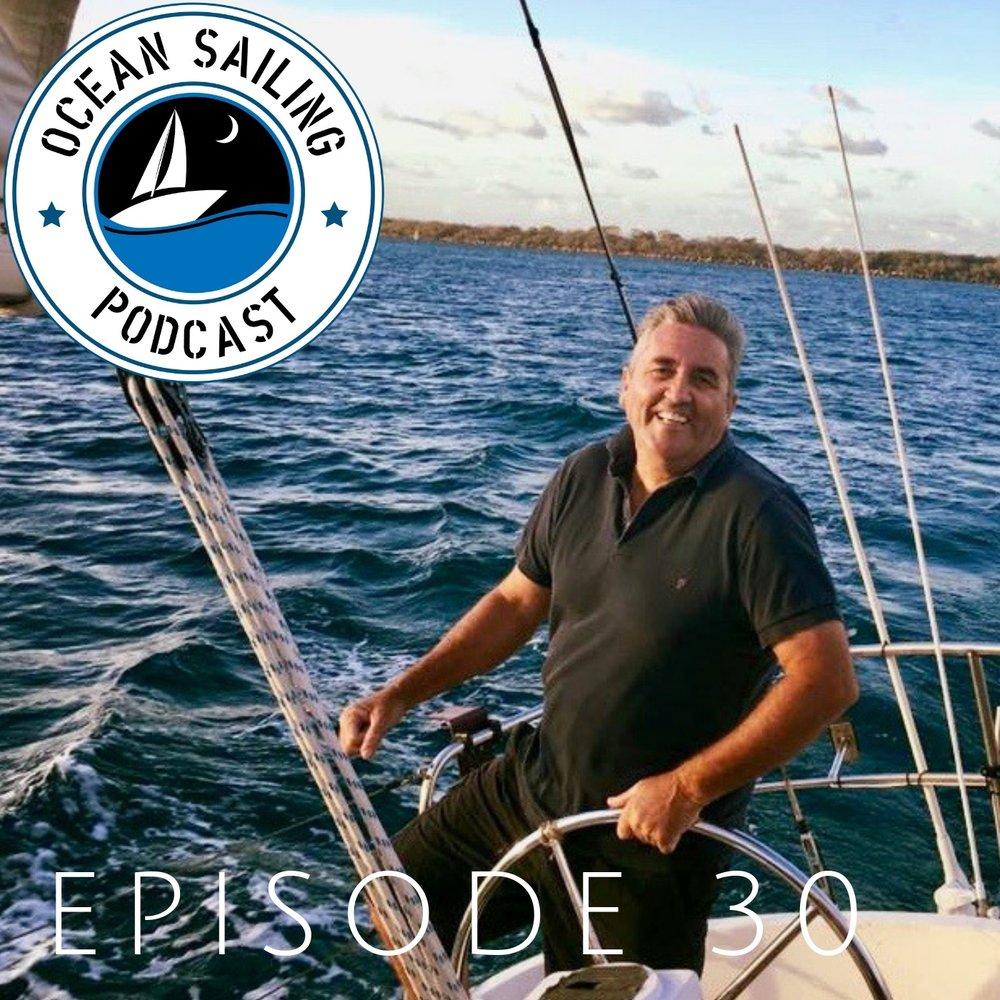 Andy Lamont CYCA Solo Circumnavigation